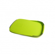 Deska do krojenia dwustronna zielono-szara Livio Vialli Design