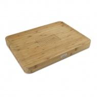 Deska do krojenia Joseph Joseph Cut&Carve Bamboo brązowa
