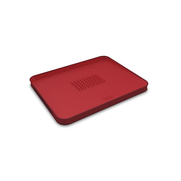 Deska do krojenia mała Joseph Joseph CUT&CARVE Plus czerwona 60014