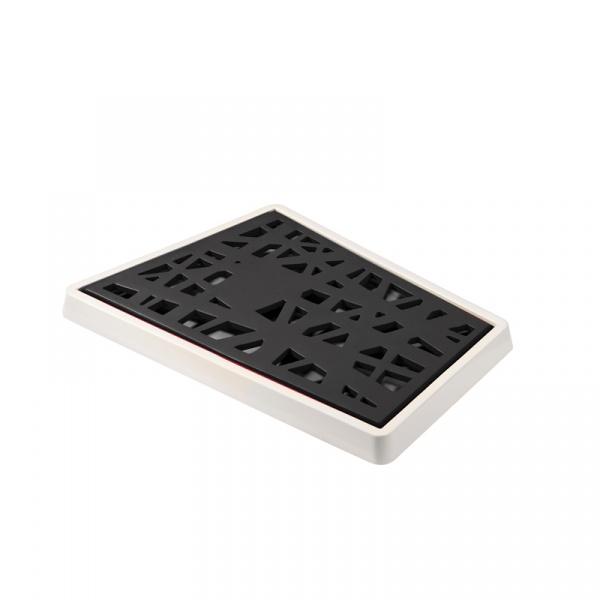 Deska do krojenia pieczywa Koziol Matrix biało-czarna KZ-3255100