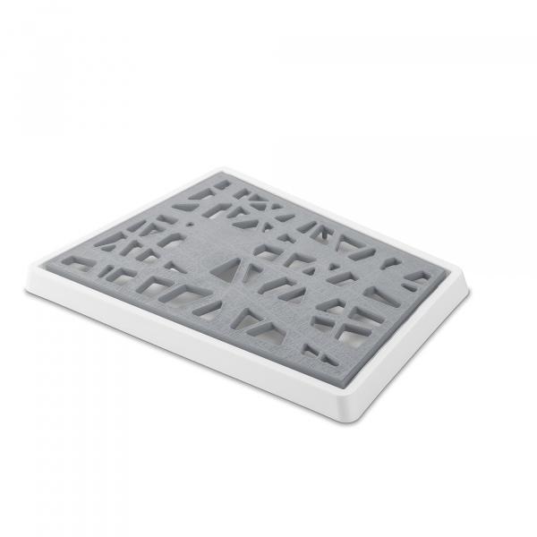 Deska do krojenia pieczywa Koziol Matrix szara KZ-3255104
