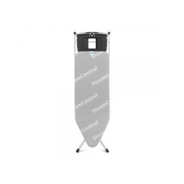 Deska do prasowania  rozmiar C (124x45 cm) Steam Control/Aqua Bowl - Brabantia