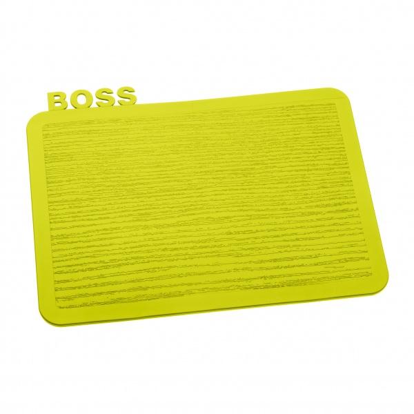 Deska śniadaniowa Koziol Happy Boards Boss musztardowa KZ-3259582