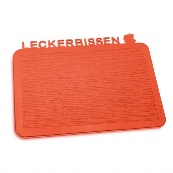 Deska śniadaniowa Koziol Happy Boards Leckerbissen pomarańczowo-czerwona KZ-3258633