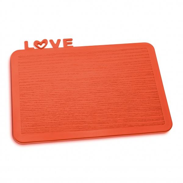 Deska śniadaniowa Koziol Happy Boards Love pomarańczowo-czerwona KZ-3249633