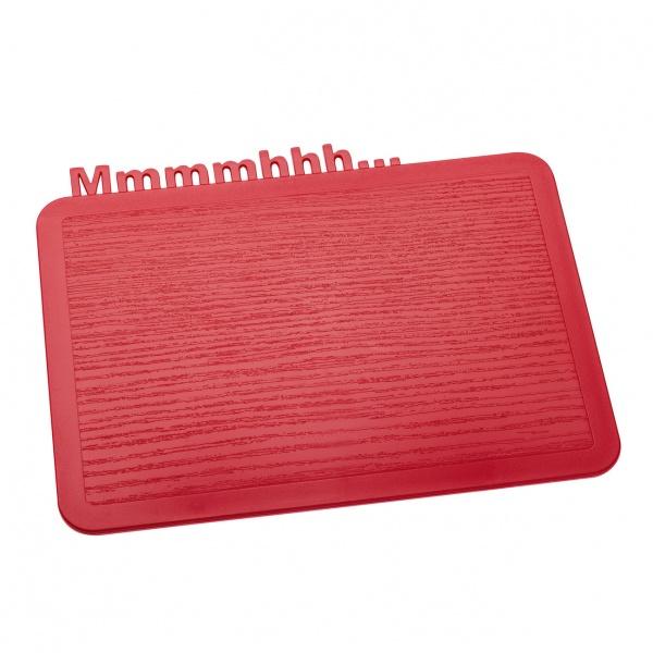 Deska śniadaniowa Koziol Happy Boards Mmmmhhh... malinowa KZ-3256583