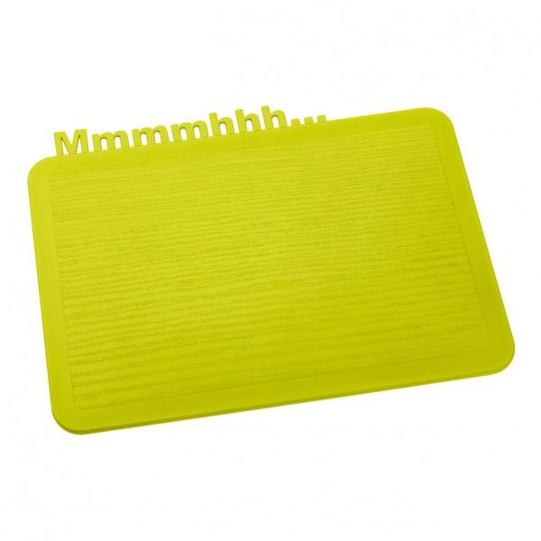 Deska śniadaniowa Koziol Happy Boards Mmmmhhh... musztardowa KZ-3256582