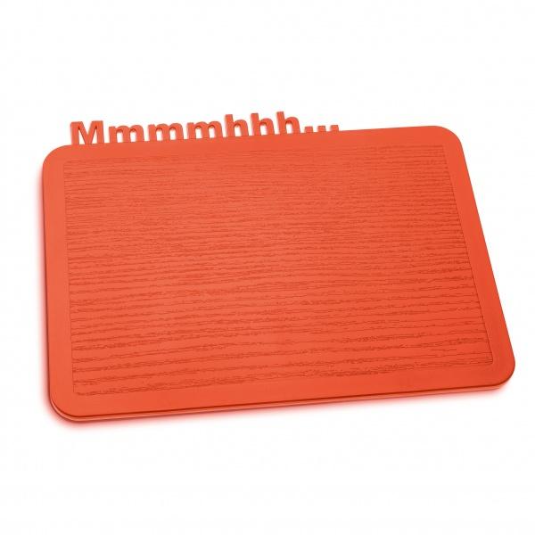 Deska śniadaniowa Koziol Happy Boards Mmmmhhh... pomarańczowo-czerwona KZ-3256633