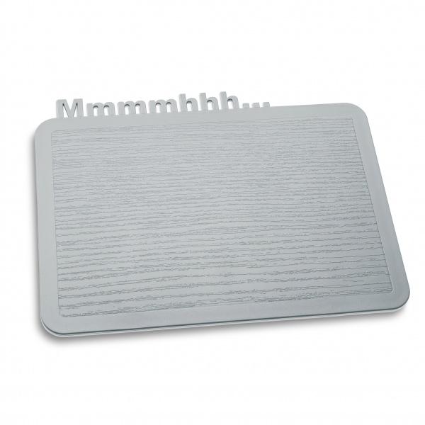 Deska śniadaniowa Koziol Happy Boards Mmmmhhh... szara KZ-3256632