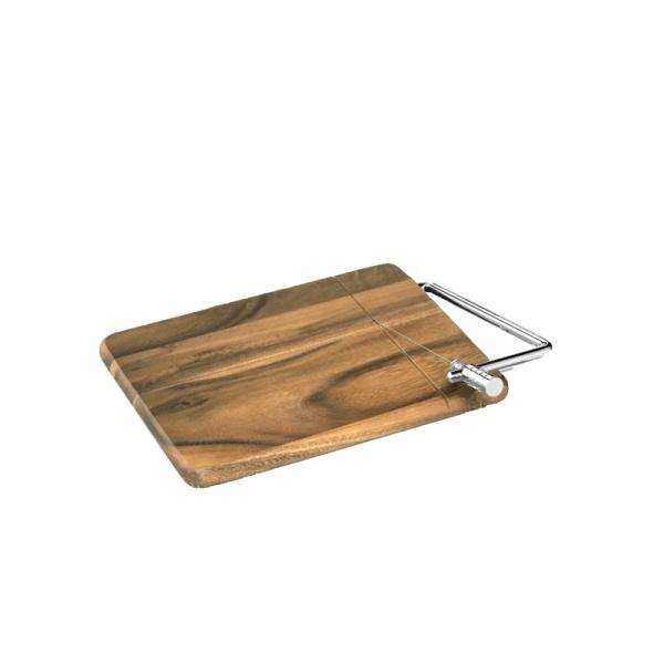 Deska z nożem do sera 25 x 18 cm Zassenhaus akacja ZS-055887