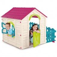 Domek dla dzieci Keter My Garden House : Kolor - violet/ecru