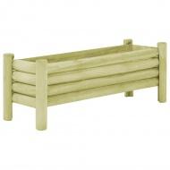 Donica ogrodowa, impregnowane drewno sosnowe FSC, 120x40x42 cm
