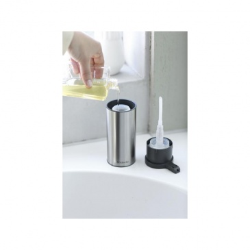 Dozownik do mydła w płynie stal matowa FPP - Brabantia
