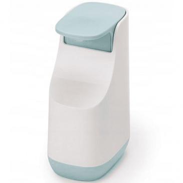 Dozownik na mydło w płynie 350ml błękitno-niebieski Joseph Joseph Slim