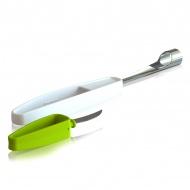 Drylownica z nożykiem do jabłek Tomorrows Kitchen Plus Tools zielona