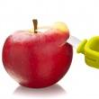 Drylownica z nożykiem do jabłek Vacu Vin Plus Tools zielona TK-4663660