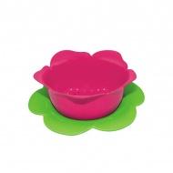 Durszlak z podstawką 16,5 cm Zak! Designs różowo-zielony