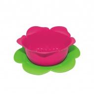 Durszlak z podstawką 23 cm Zak! Designs różowo-zielony