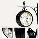 Dwustronny zegar ścienny, 20 cm