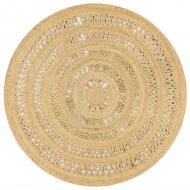 Dywan ręcznie wypleciony z juty, 150 cm