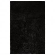 Dywan shaggy, 80 x 150 cm, czarny