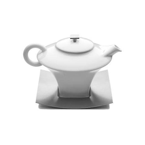 Dzbanek do herbaty 0,6L Tramontina Teatime biały 16095/000