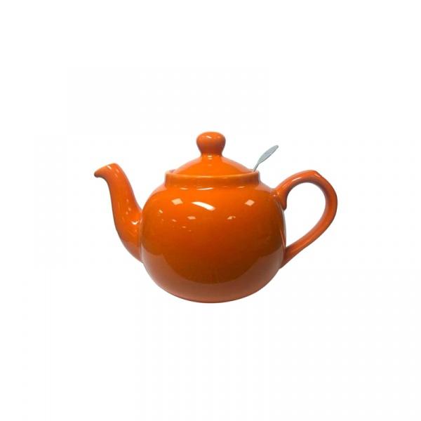 Dzbanek do herbaty z filtrem Farmhouse 0,6 l London Pottery pomarańczowy LP-17272201