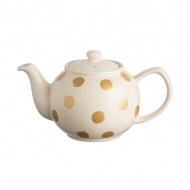Dzbanek na herbatę 1,1l Price & Kensington Gold Spot złoty