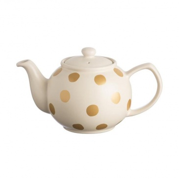 Dzbanek na herbatę 1,1l Price & Kensington Gold Spot złoty 0059.501