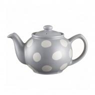 Dzbanek na herbatę 450ml Price & Kensington Silver spot srebrny
