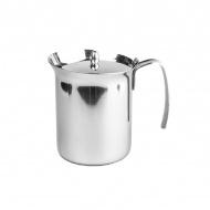 Dzbanek z pokrywką do spieniania mleka 750 ml Bialetti stalowy