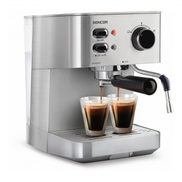 Ekspres ciśnieniowy do Espresso/ Cappuccino Sencor SES 4010SS srebrny SES 4010SS