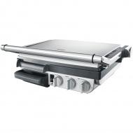 Elektryczny grill kontaktowy 2w1 15,9x50,6cm Sage srebrny