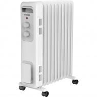 Elektryczny grzejnik olejowy 2000W Sencor biały