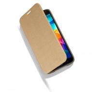 Etui Samsung Galaxy S5 Meliconi Slim Book złote
