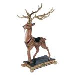 Figurka jeleń z cyrkoniami 32x31x56 cm