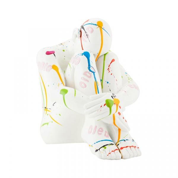 Figurka Medi Kokoon Design biały DK00880DI