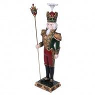 Figurka żołnierz z cyrkoniami 19x15x67 cm