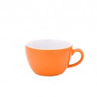 Filiżanka do cappuccino 0,25 l Kahla Pronto Colore pomarańczowa