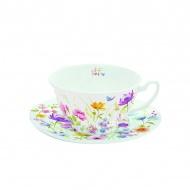 Filiżanka do herbaty 150 ml w prezentowym pudełku Nuova R2S Romantic