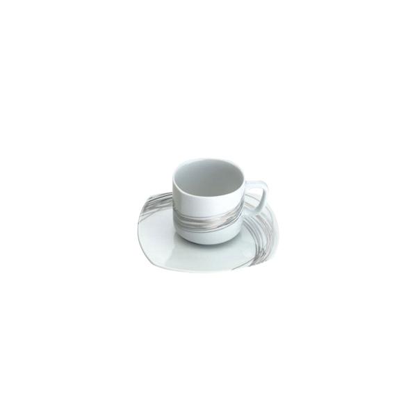 Filiżanka do herbaty Casa Bugatti Fili Platino 95-FPL460