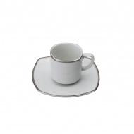 Filiżanka do kawy Casa Bugatti Serena Platino