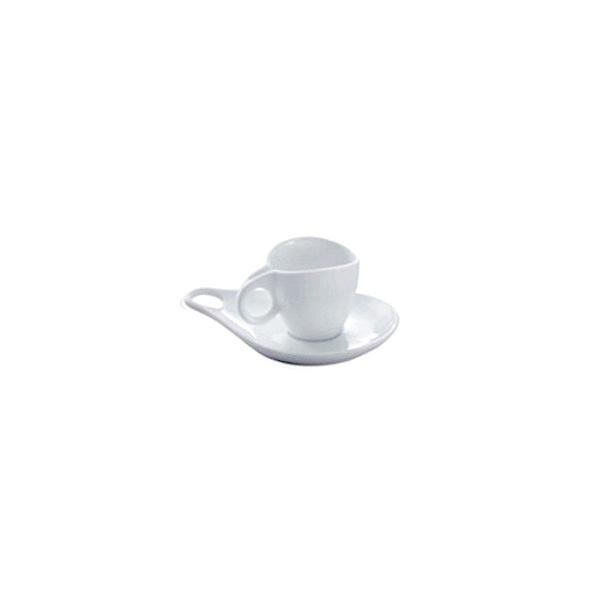 Filiżanka do kawy ze spodkiem Casa Bugatti Milla 6 szt. 53-1001PO