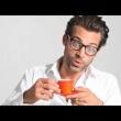 Filiżanka espresso + spodek czerwona Leonardo Ooh! Magico 012266