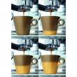 Filiżanka espresso + spodek Leonardo Ooh! Magico brązowy metalik 063877