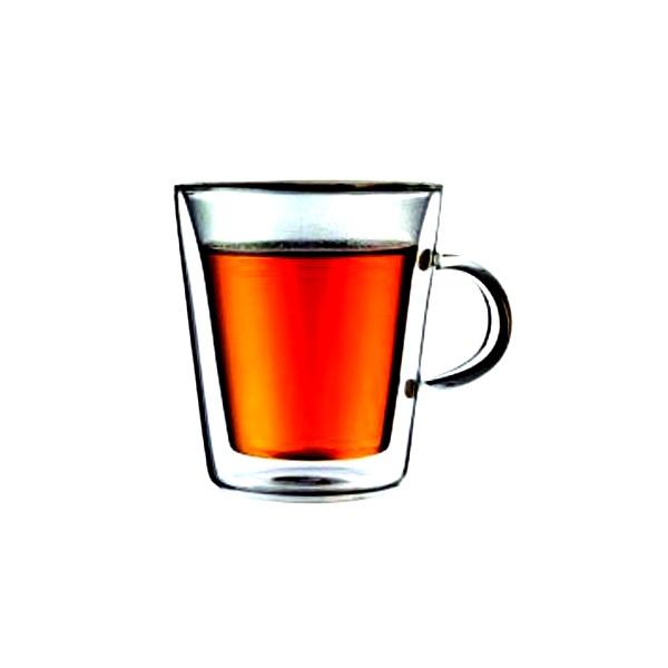 Filiżanka szklana izolowana 2 szt. 0,2 l BODUM Canteen BD-10325-10