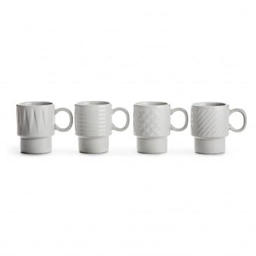 Filiżanki do espresso 100ml Sagaform białe SF-5017880