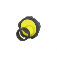 Filtr 8,6cm do latarki Ledlenser żółty