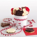 Foremka do lodów i ciasta + wykrawaczka KRÓWKA Pavoni