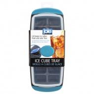 foremka do lodu, z pokrywką, szaro-niebieska